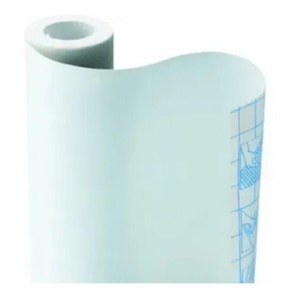 Papel Adesivo Tipo Contact Branco 448mm X 10m  - Casa do Roadie