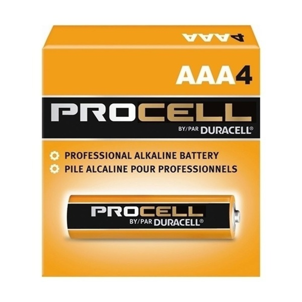 Pilha Alcalina Duracell Procell AAA - Caixa com 24 unidades  - Casa do Roadie