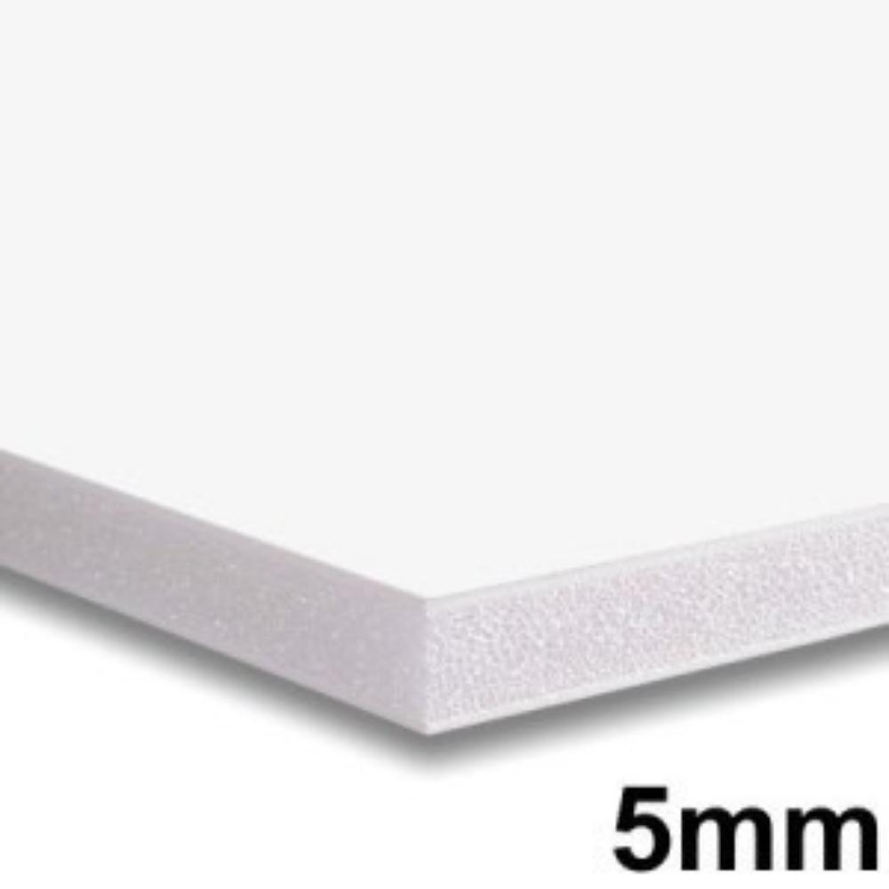 Placa de Espuma Foam Board 80cm X 1m Branca