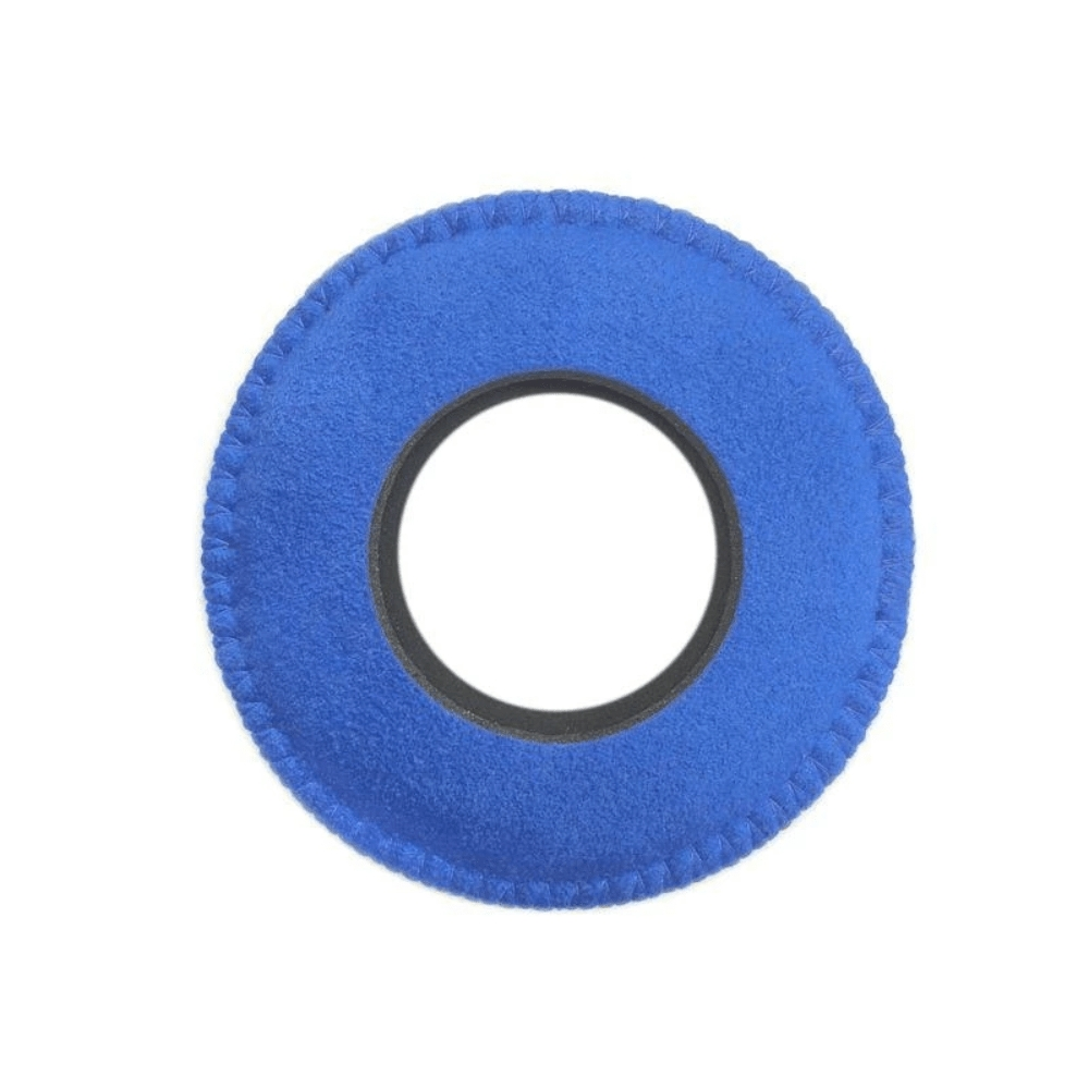 Protetor Ocular Eyecushion Redondo Extra Largo Bluestar Ultrasuede Azul  - Casa do Roadie