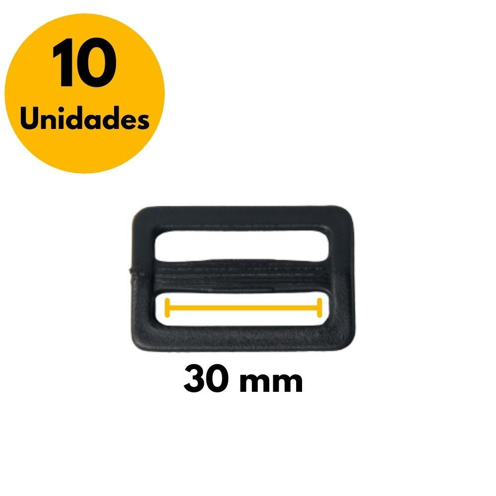 Regulador de Plástico para Alças 30mm - Kit com 10 unidades