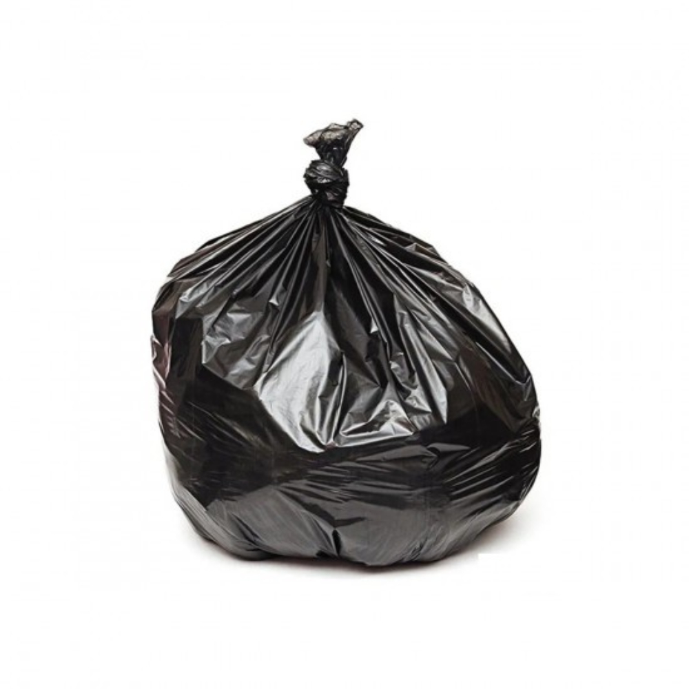 Saco de Lixo 100L Reforçado Preto 1KG  - Casa do Roadie