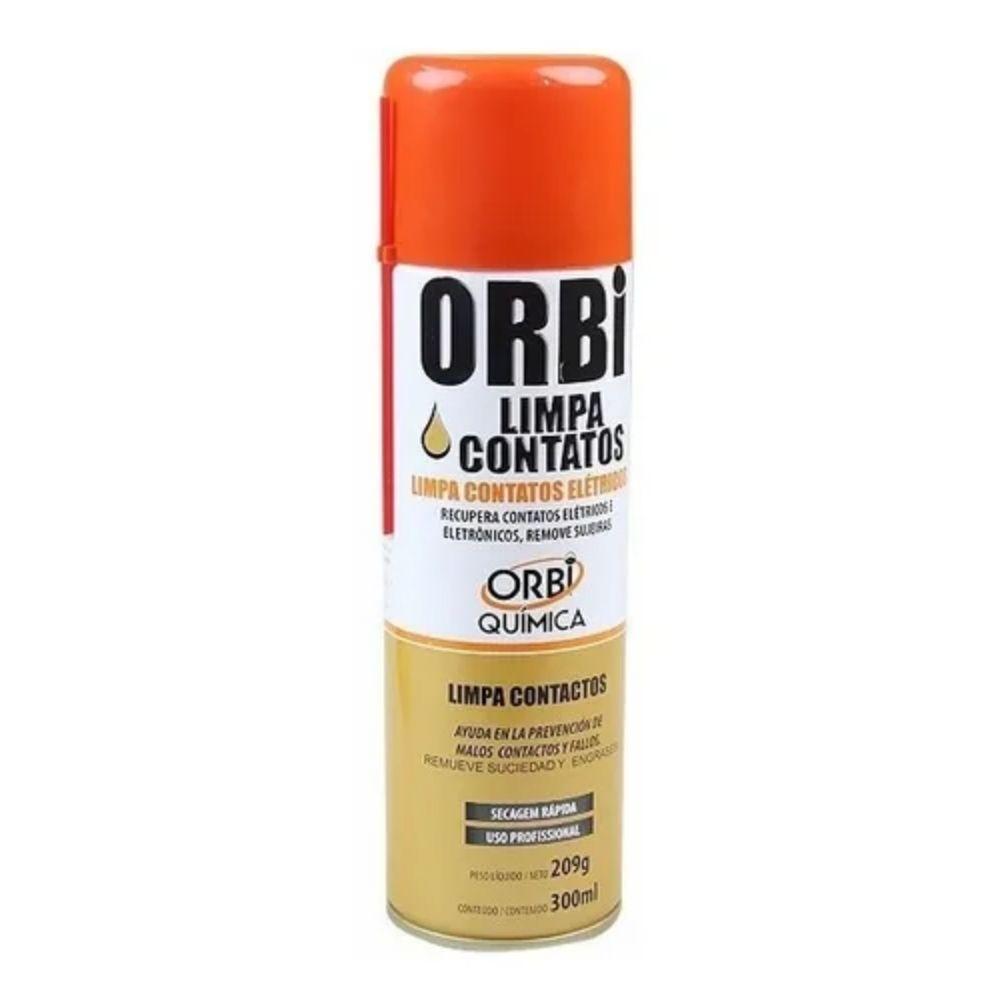 Spray de Secagem Rápida Limpa Contato Orbisil 300ml  - Casa do Roadie
