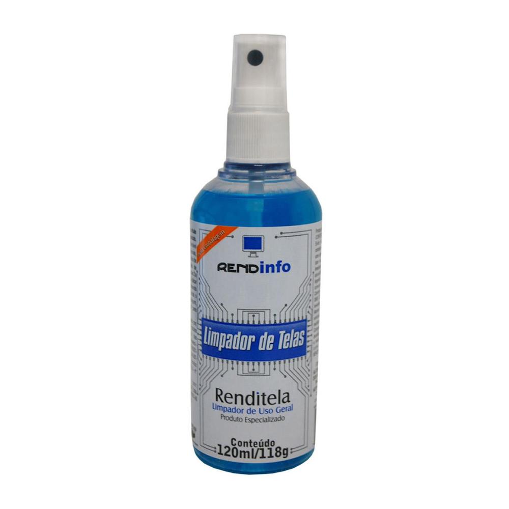 Spray Líquido Limpador de Telas Rendinfo 120ml