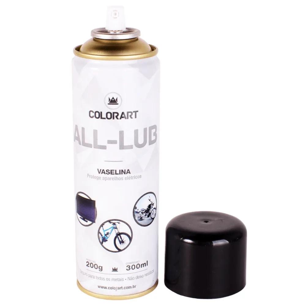 Spray Protetor Eletrônico Vaselina All-Lub Colorart 300ml  - Casa do Roadie