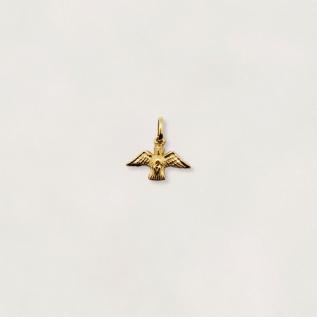 Pingente Divino Espirito Santo em Ouro 18K