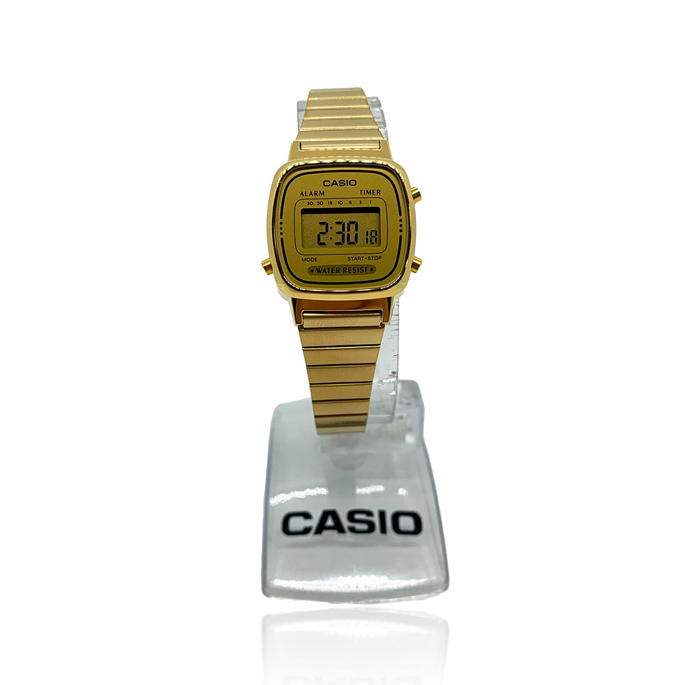 Relógio Casio  Vintage  LA670WGA- 9DF - SC