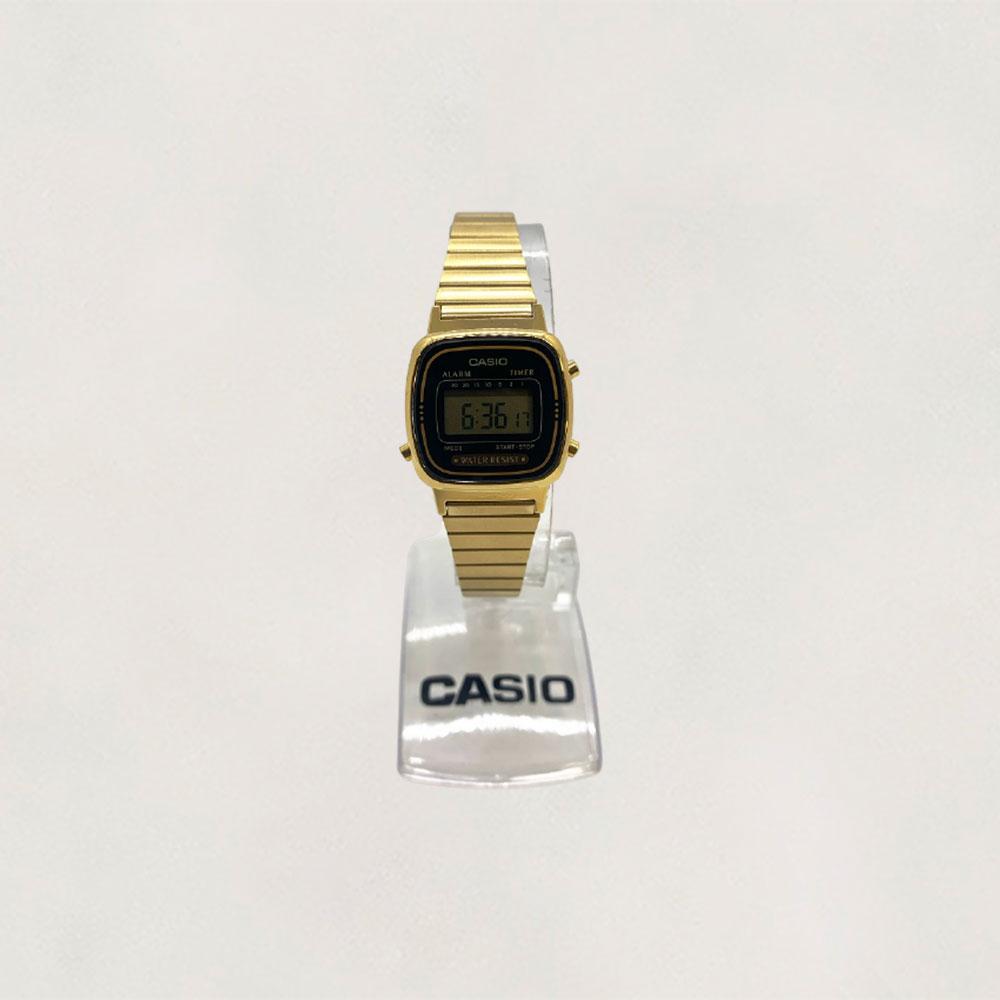 Relógio Casio Vintage LA 670WGA -1DF-SC
