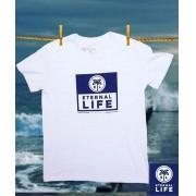 Camiseta Estampada Eternal Life Style Masculina Branca