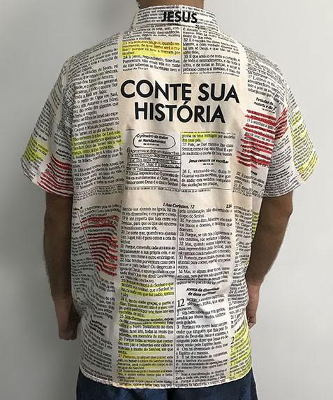 Camisa Branca Evangelismo Bola De Neve 2021 - Veste De Louvor