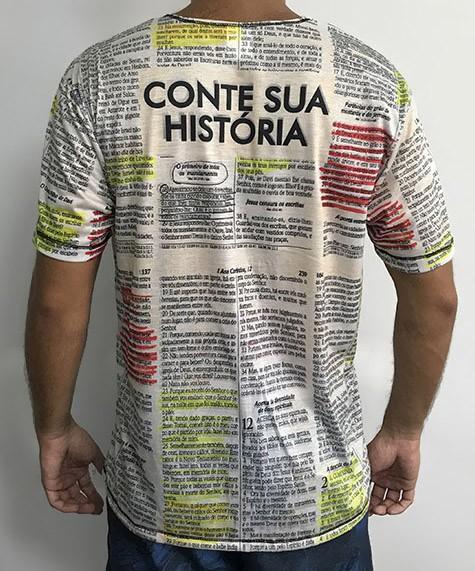 Camiseta Branca Evangelismo Bola De Neve 2021 - Veste De Louvor