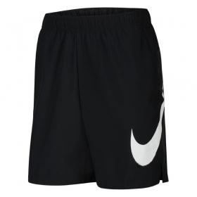 Bermuda Nike Flex Swoosh Masculino Preto Branco
