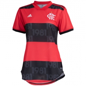 Camisa Oficial Flamengo l 2021 - Feminino
