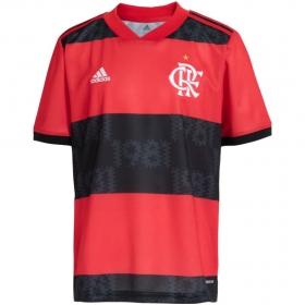 Camisa Oficial Flamengo l 21/22 Infantil