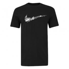 Camisa Nike NBA Fran Swoosh Preto