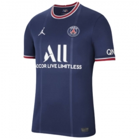 Camisa Oficial Paris Saint-Germain 21/22 Masculino Marinho Vermelho