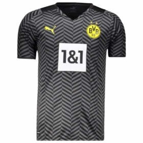 Camisa Oficial Borussia Dortmund II 21/22 Preto