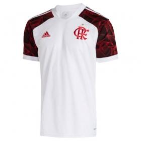 Camisa Oficial Flamengo II 21/22 Masculino Branco Vermelho