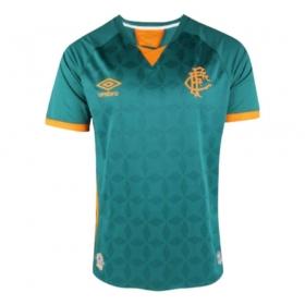 Camisa Oficial Fluminense III 20/21 Masculino Verde Laranja