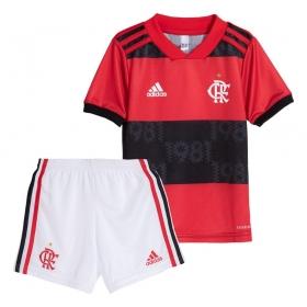 Uniforme Oficial Flamengo Infantil I 21/22 Adidas