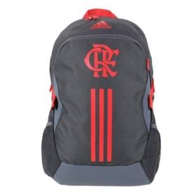 Mochila Flamengo Adidas - Cinza/Vermelho