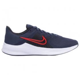Tênis Nike Downshifter 11 Azul Branco Vermelho