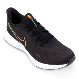Tênis Nike Revolution 5 Masculino Preto Branco Color