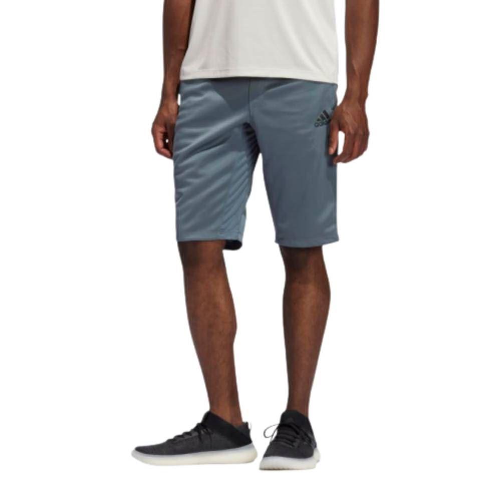 Bermuda Adidas City Long Cinza Preto
