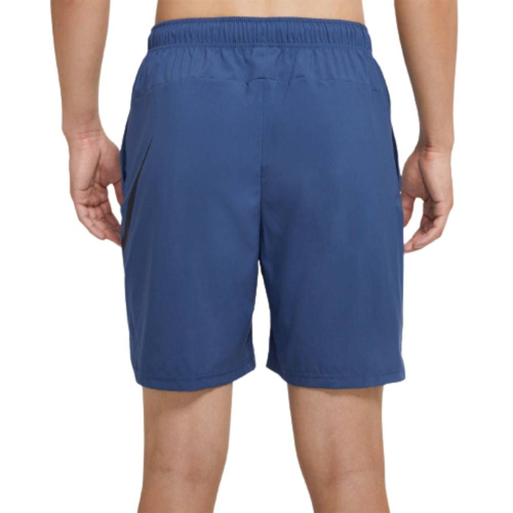 Bermuda Nike Flex WVN Swoosh Azul Marinho