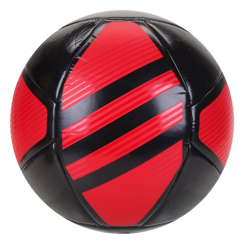 Bola de Futebol Campo Adidas Flamengo - Preto/Vermelho