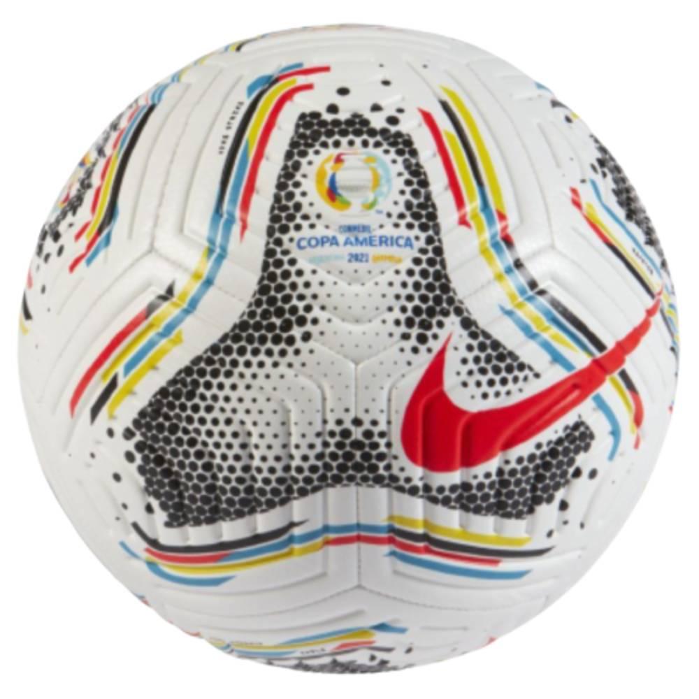 Bola Nike Campo Copa América Branco Vermelho Preto