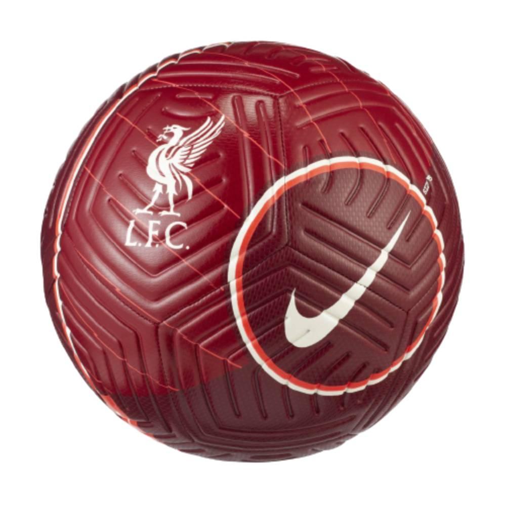 Bola Nike Campo Liverpool Strike Vermelho