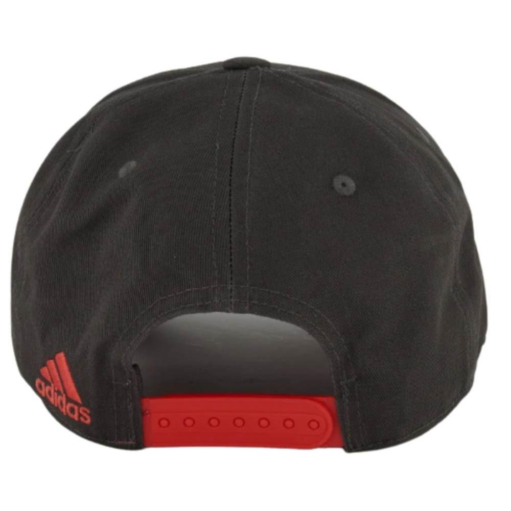 Boné Adidas Flamengo - Preto/Vermelho