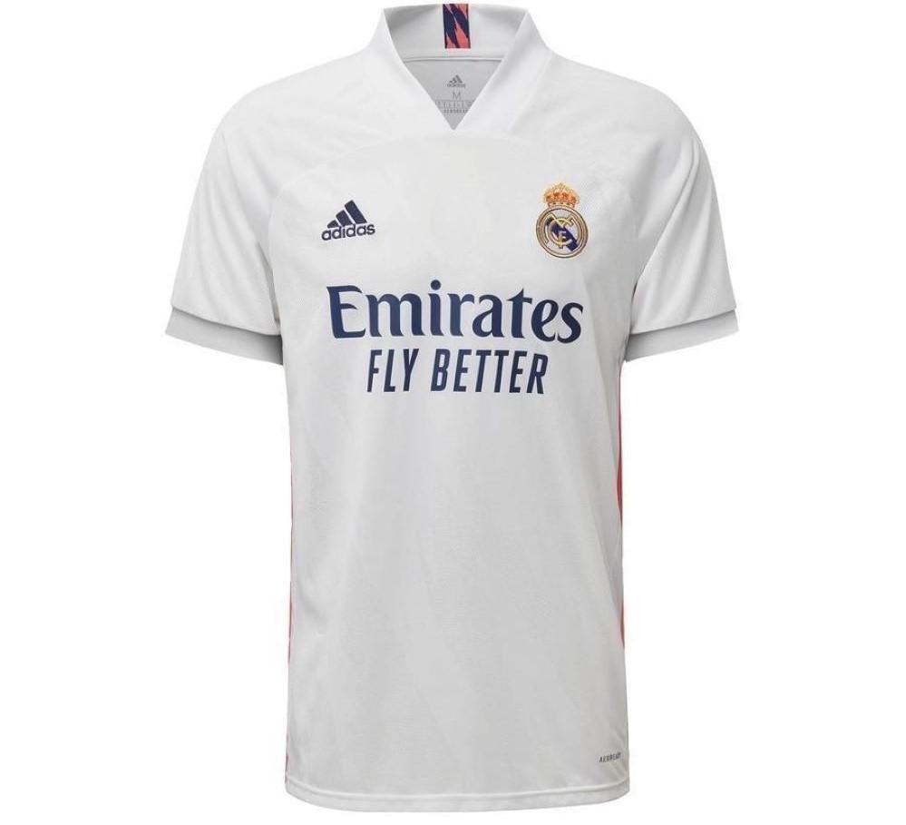 Camisa Oficial Real Madrid I 20/21 - Branca