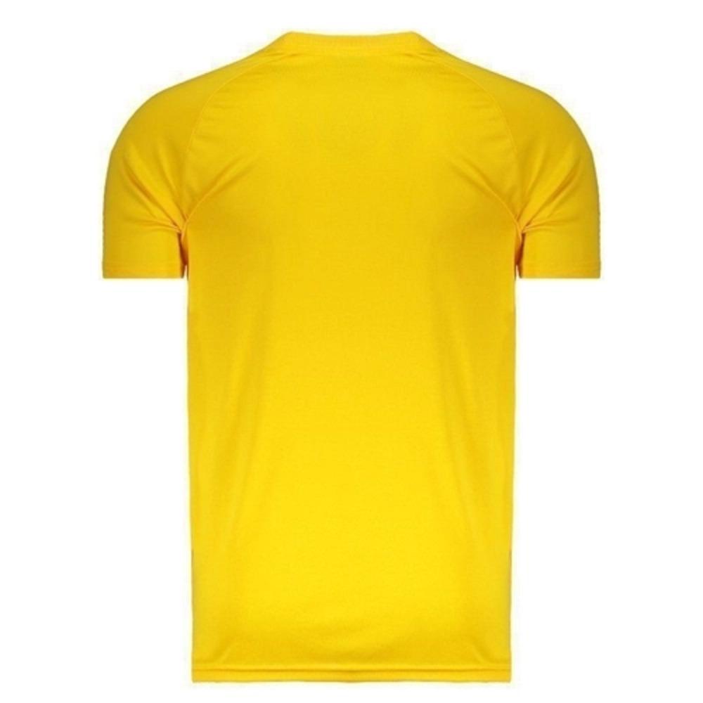 Camisa Oficial Brasil Basic Masculino Verde Amarelo