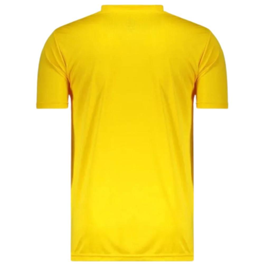Camisa Oficial Brasil Escudo Masculino Verde Amarelo