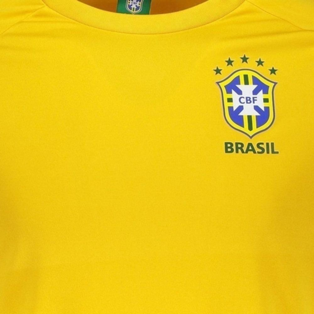 Camisa Oficial Brasil CBF Basic