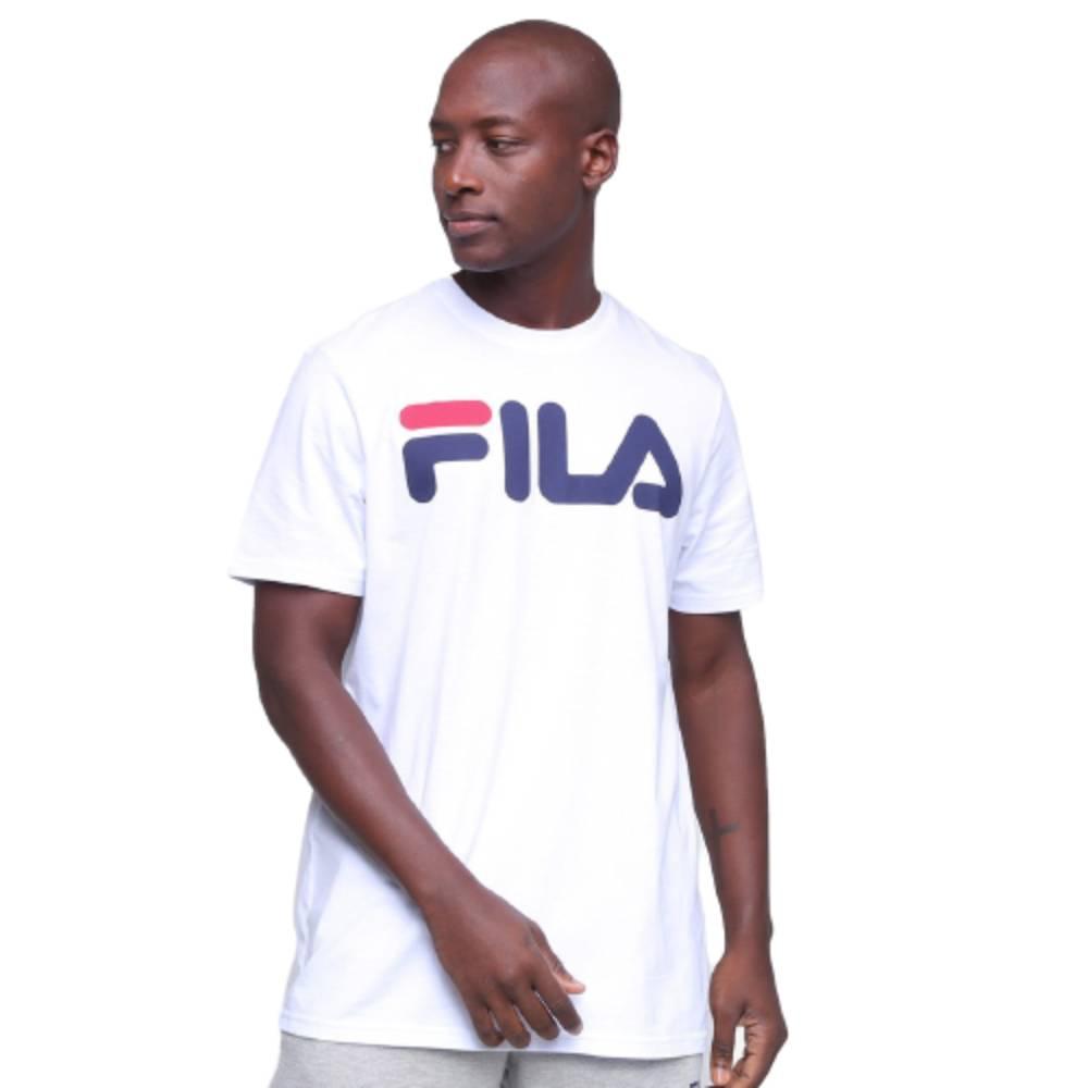 Camisa Fila Letter II Branco