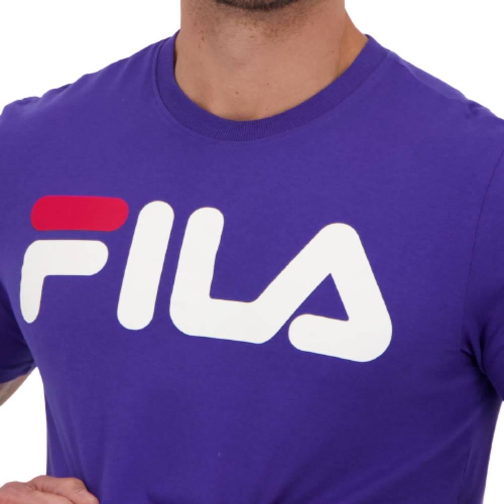 Camisa Fila Letter II Lilás