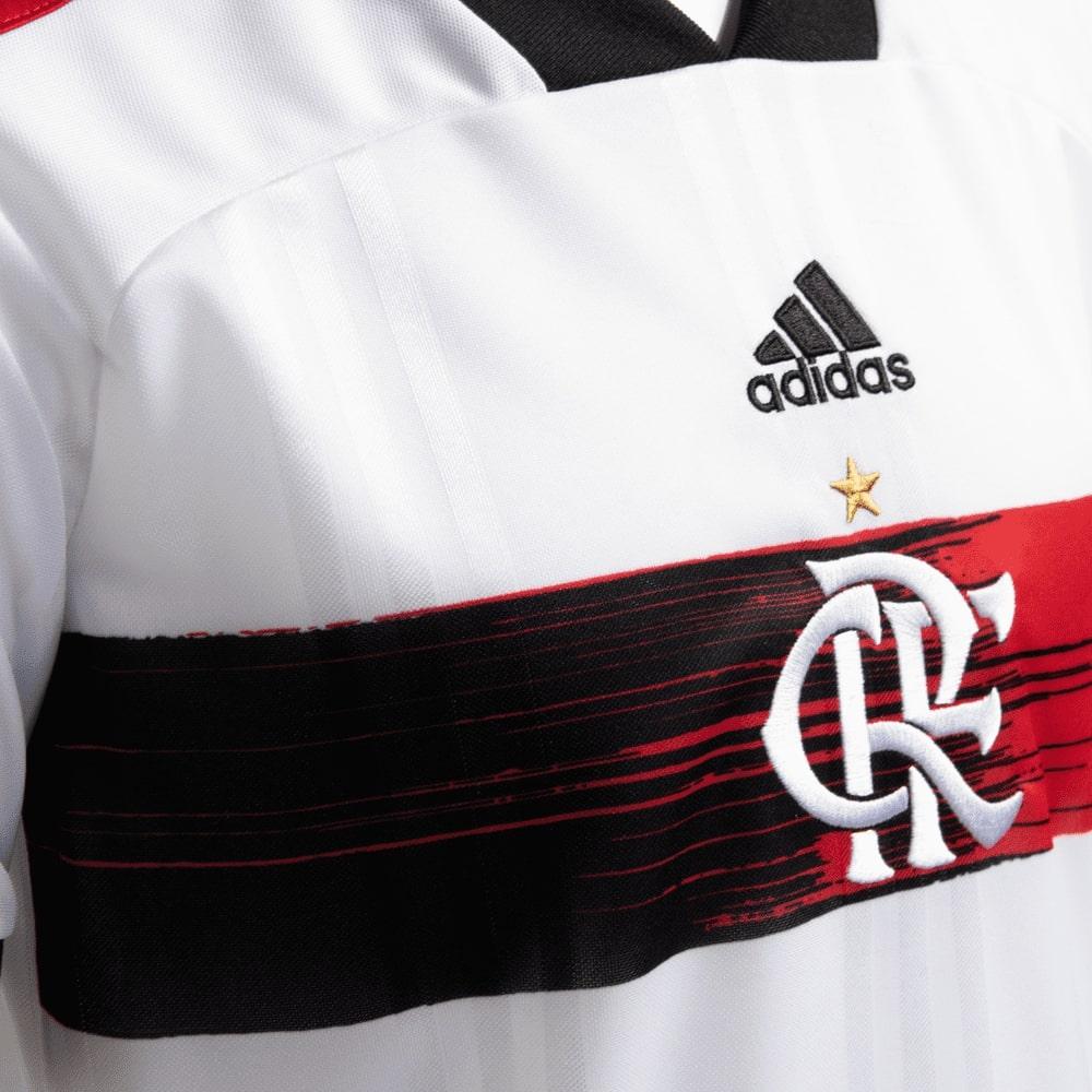 Camisa Flamengo Infantil Jogo 2 Adidas 2020