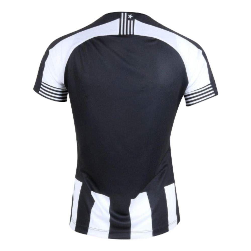 Camisa Oficial Botafogo I 20/21 Feminino Preto Branco