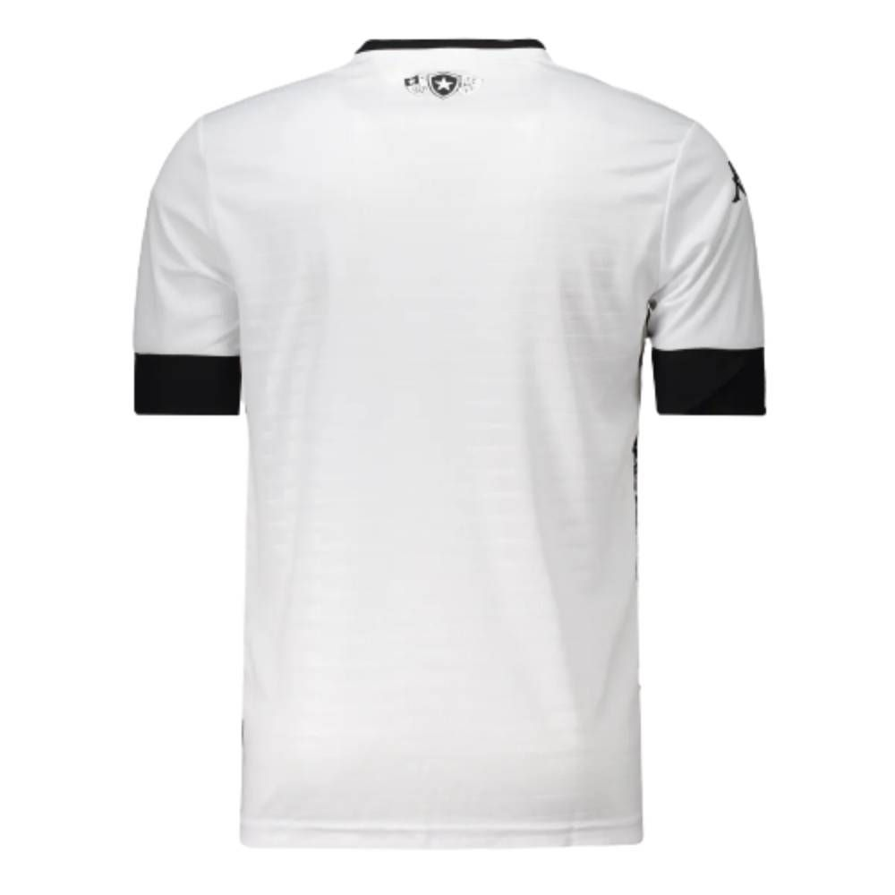 Camisa Kappa Botafogo III 2021 - Branco/Preto