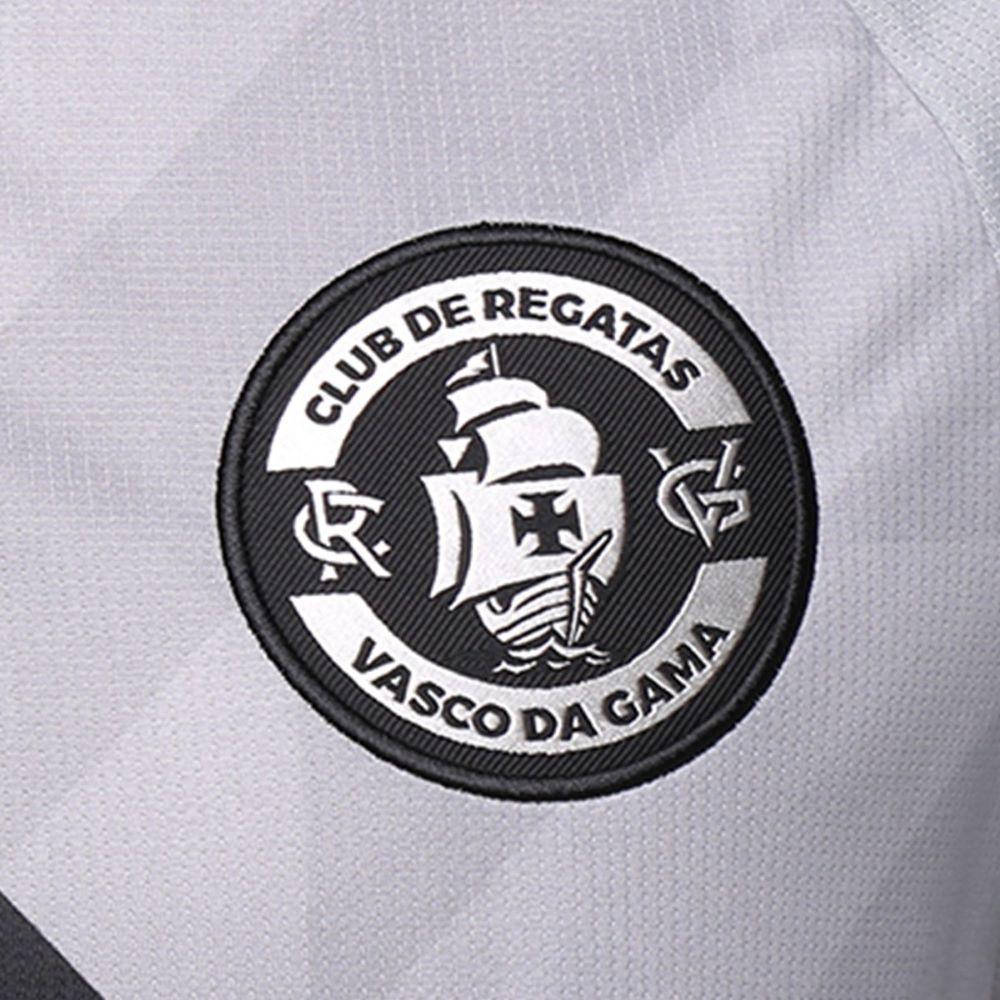 Camisa Oficial Vasco da Gama Goleiro III 21/22 Masculino Cinza