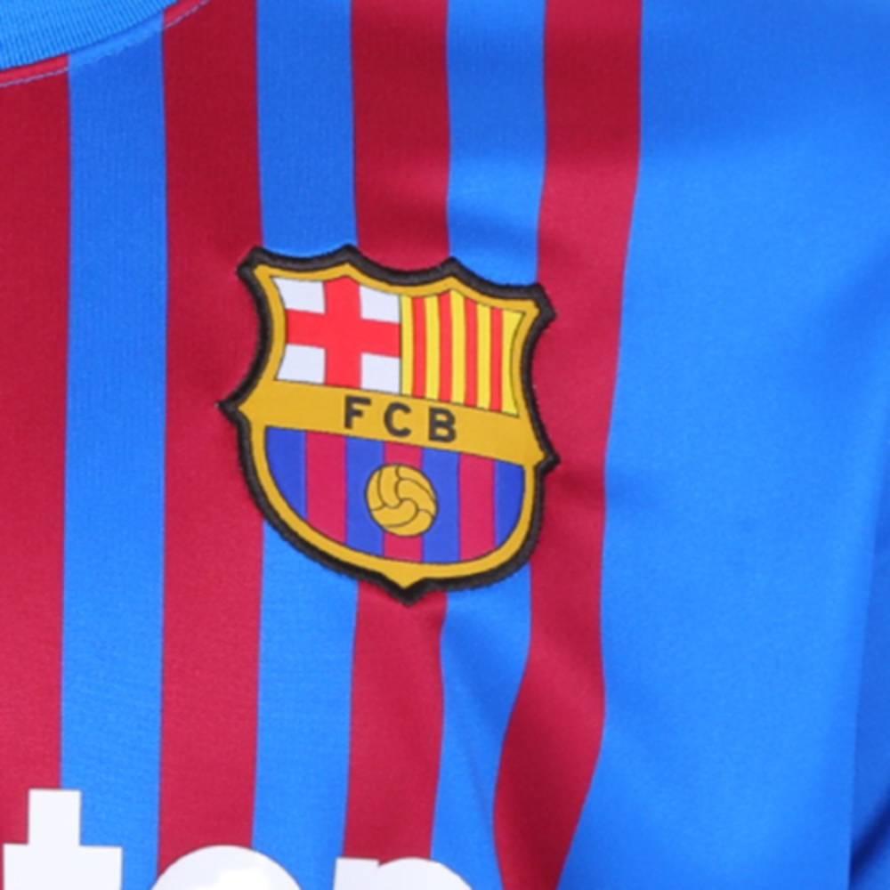 Camisa Oficial Barcelona 21/22 Masculino Marinho Grena