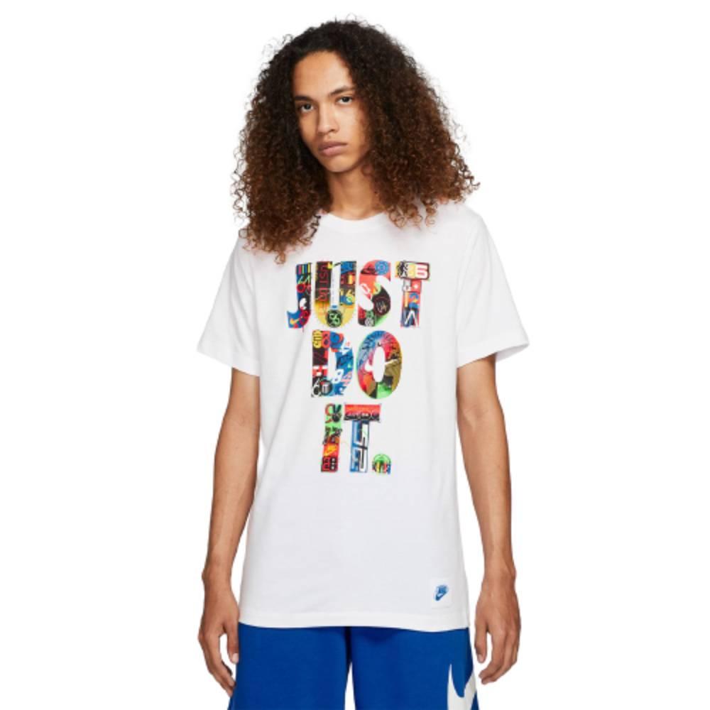 Camisa Nike Nsworldwide Just Do It Branco