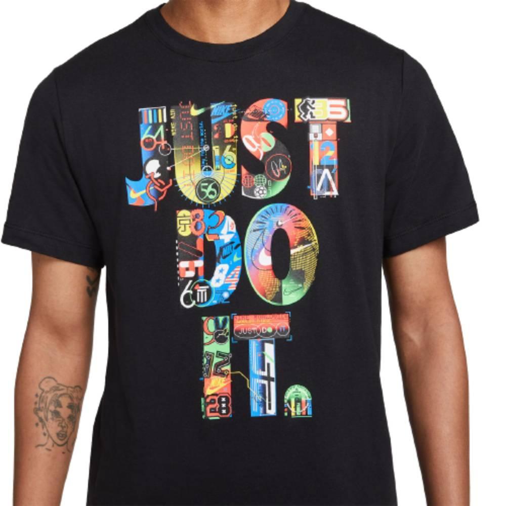 Camisa Nike Nsworldwide Just Do It Preto