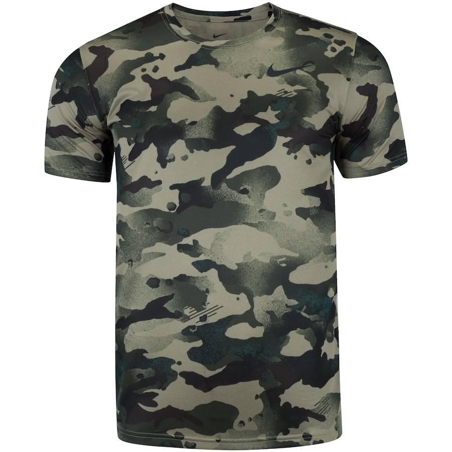 Camisa Nike Pro SS Slim Verde