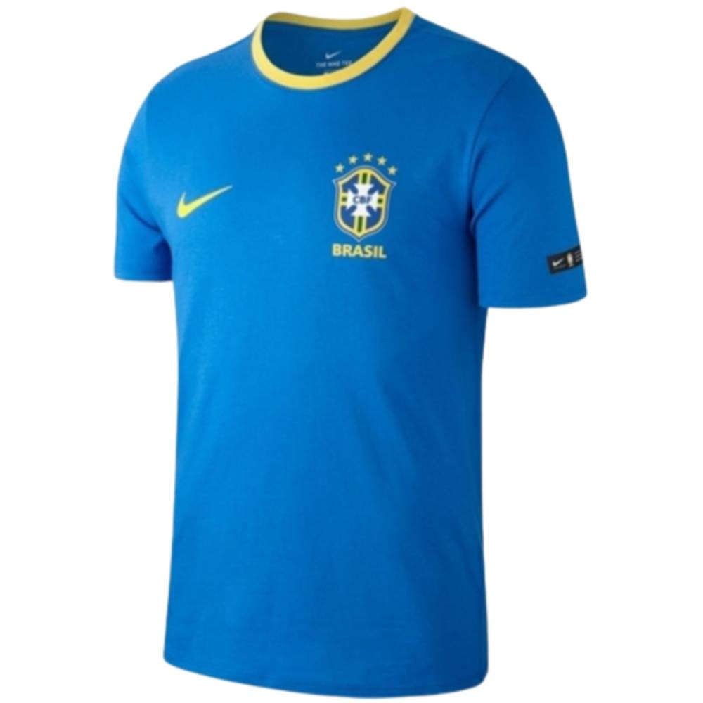 Camisa Oficial Brasil 17/18 Masculino Verde Amarelo