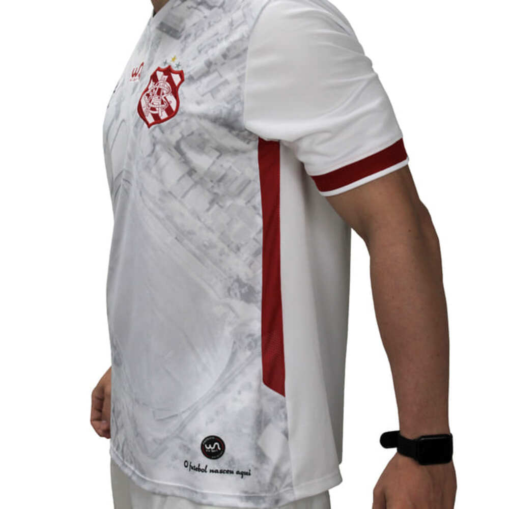 Camisa Oficial Bangu Atlético Clube 2 21/22 Masculino Branca