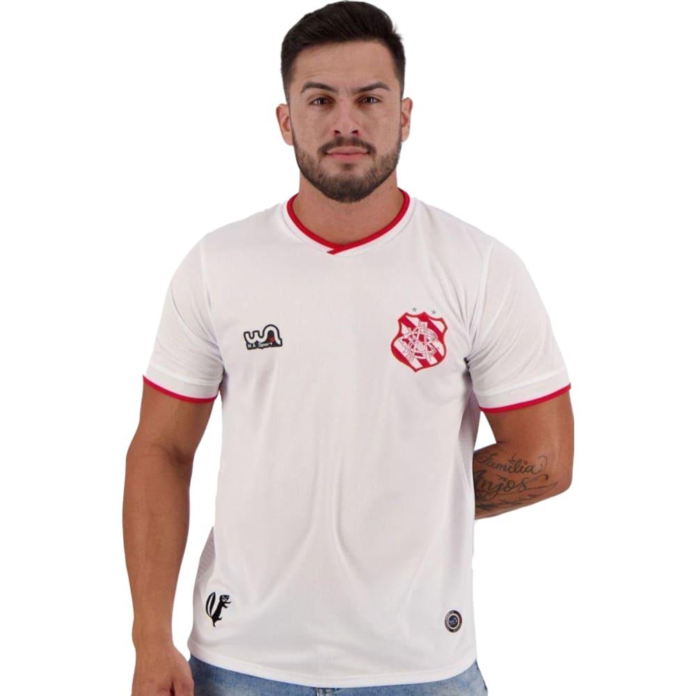 Camisa Oficial Bangu Atlético Clube II 20/21 Masculino Branco